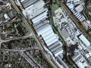 Továrna BOSCH na výrobu sekaček ATCO