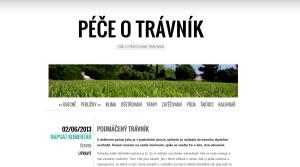 Péče o trávník - nový informační web