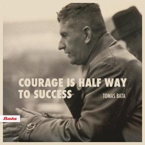 Odvaha je polovina úspěchu.