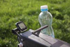 Sekačka na trávu s tachometrem