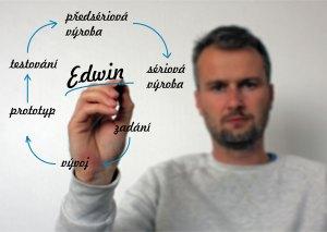 Jsme na konci procesu zvaného vývoj vřetenové sekačky Edwin