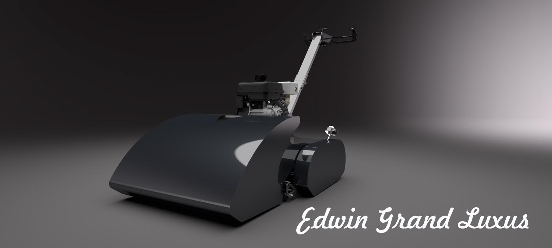 Edwin Grand Luxus - nejlépevybavená sekačka na trhu.