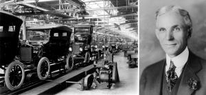 ATCO: 1.rok 900 sekaček Henry Ford: 1. rok 1700 aut
