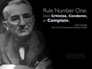 dalecarnegie rule one