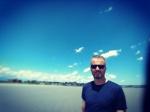 Poprvé na pláži v USA - Lynn