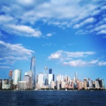 Manhattan pohledem z New Jersey