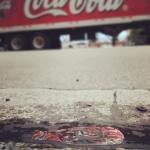 Koloběh coca coly ve městě